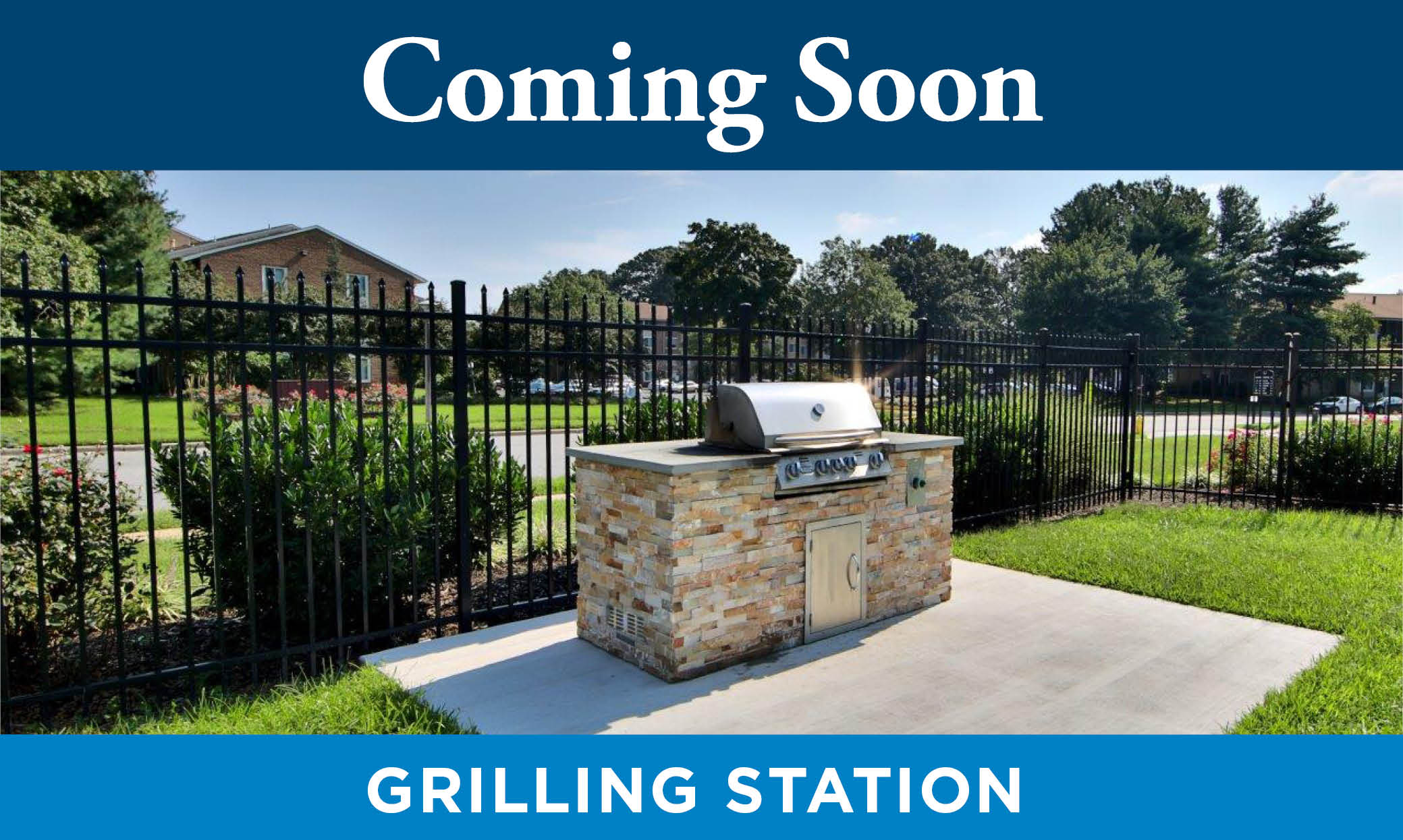 barbecue area at Lakewood Hills Apartments & Townhomes in Harrisburg, PA