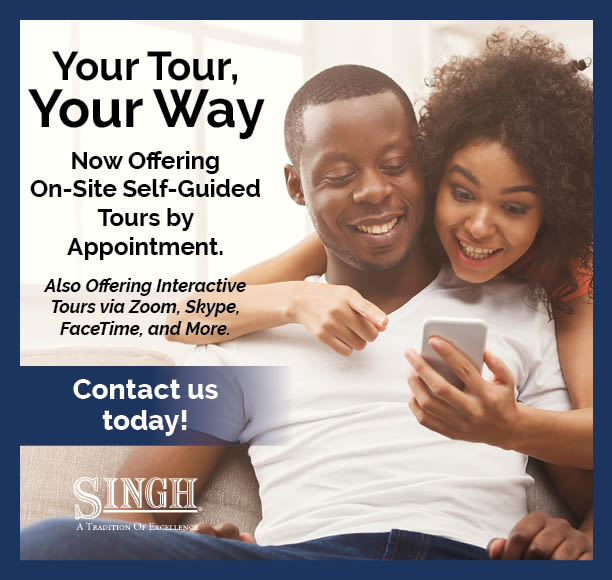 Self-Guided Tours at Singh Apartments
