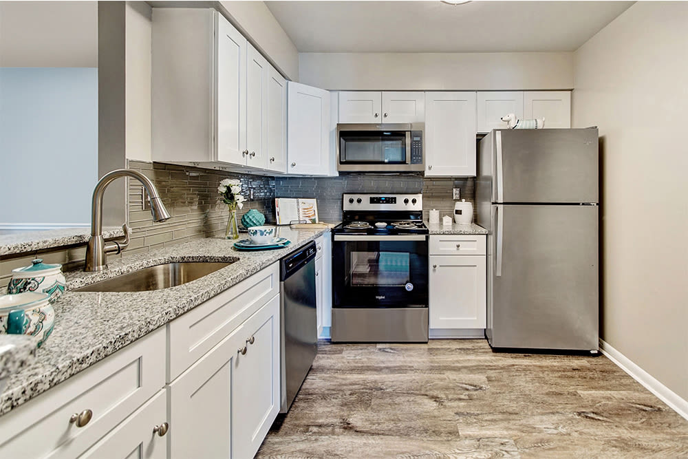 Kitchen at Northampton Apartment Homes in Largo, Maryland