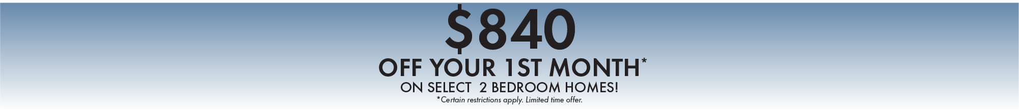 Special offer from The Landings at Beckett Ridge in West Chester, Ohio