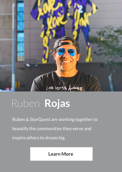 Meet Ruben Rojas, an ambassador for StorQuest Self Storage in Santa Monica, California