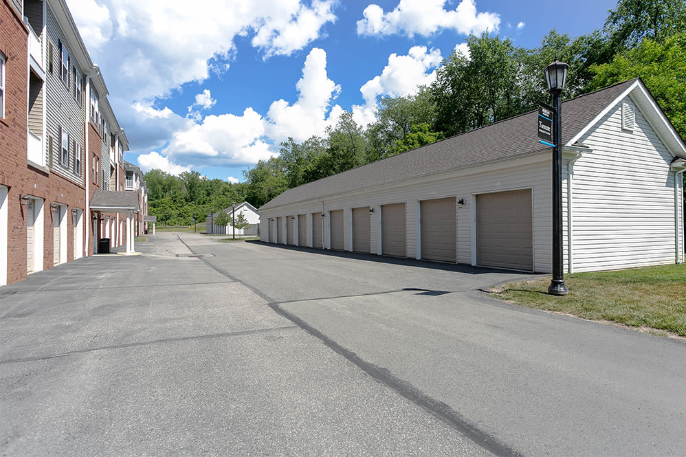 Garages at Torrente Apartment Homes in Upper St Clair, Pennsylvania
