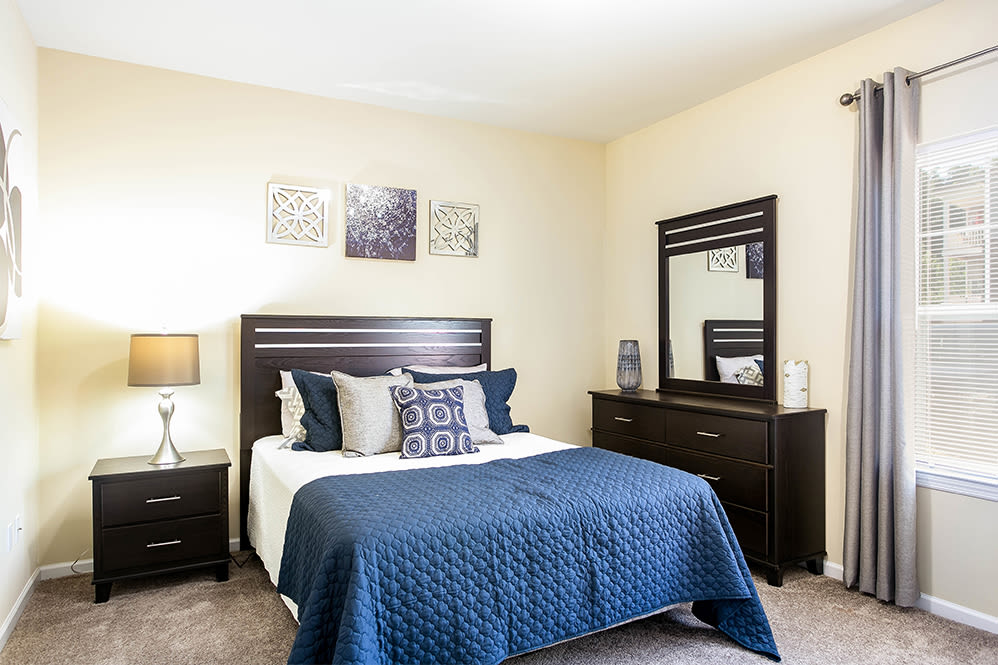 Bedroom at Torrente Apartment Homes in Upper St Clair, Pennsylvania