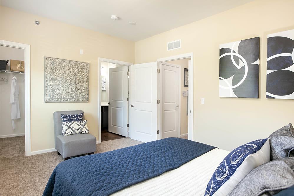 Beautiful bedroom at Torrente Apartment Homes in Upper St Clair, Pennsylvania