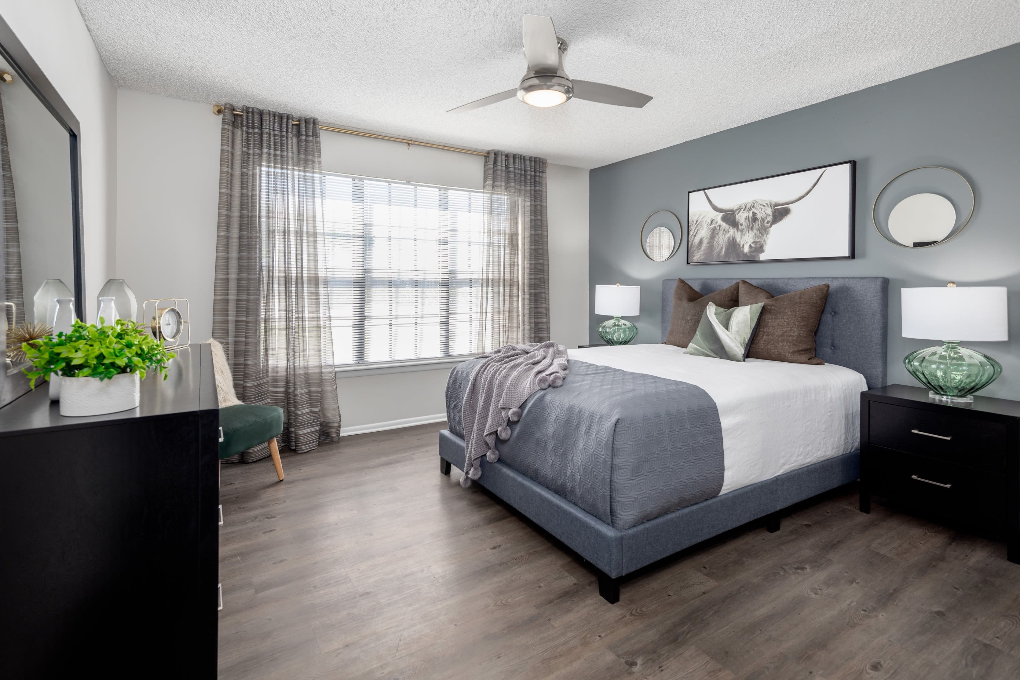 Spacious bedrooms at Compass in Melbourne, Florida