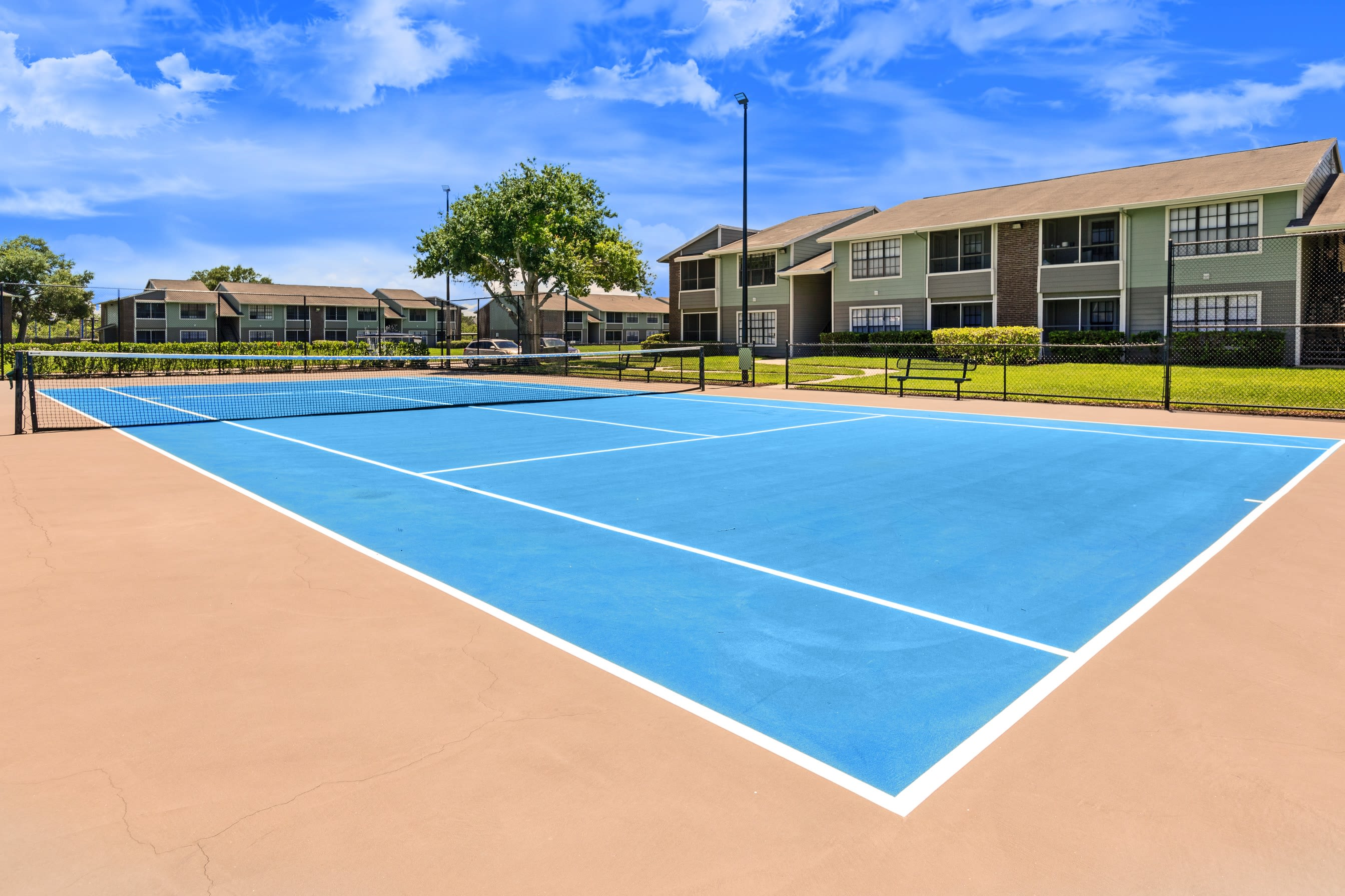 Tennis Court at Compass in Melbourne, Florida