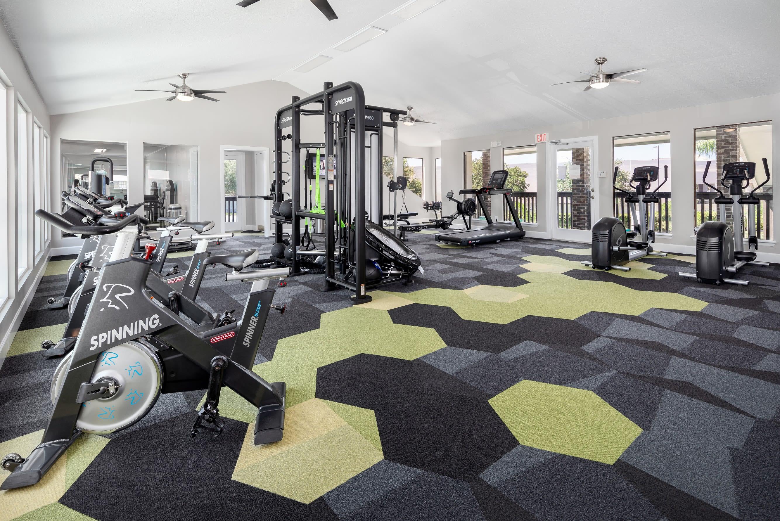 24-Hour Modern Fitness Center at Compass in Melbourne, Florida