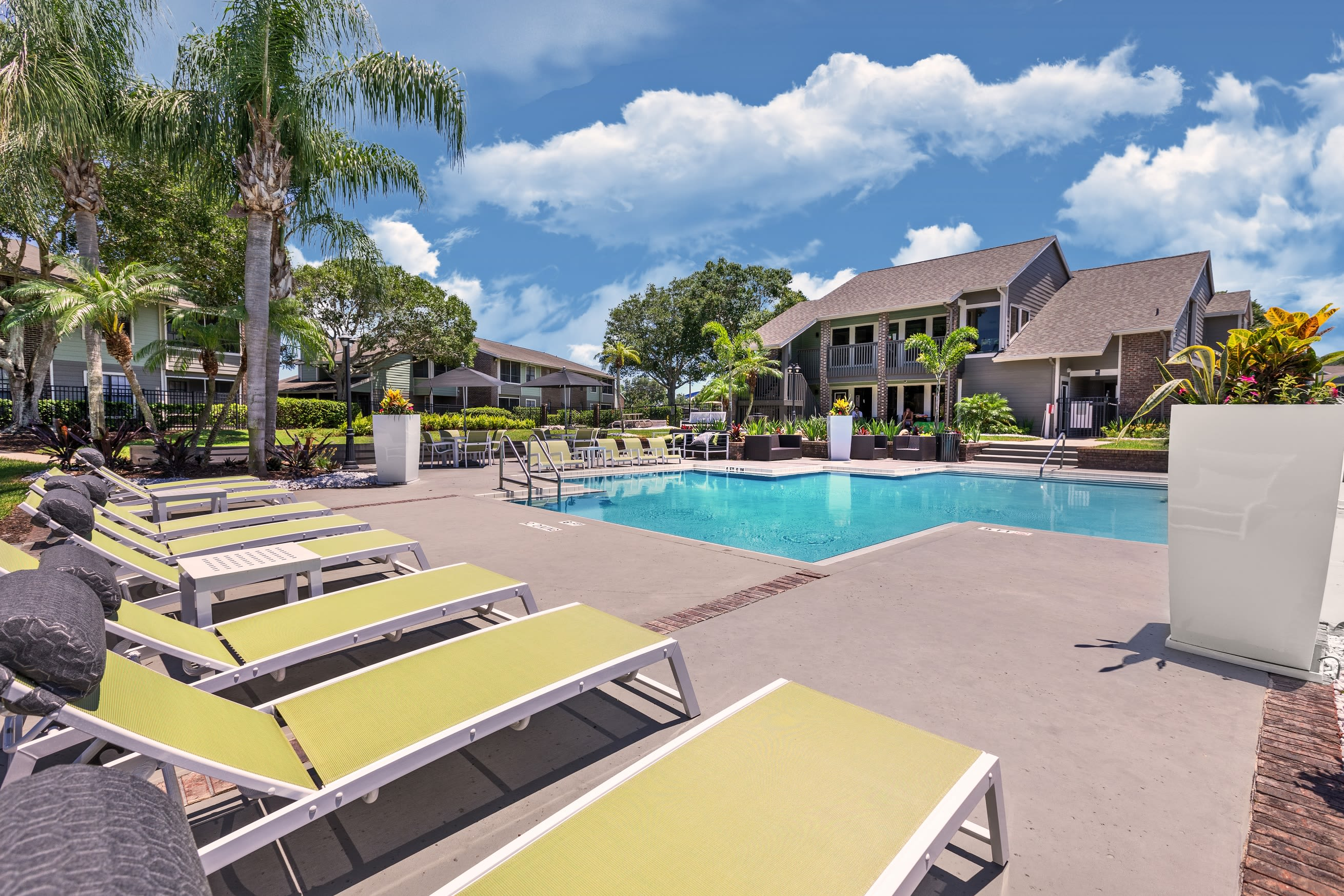 Resort-Inspired Pool at Compass in Melbourne, Florida