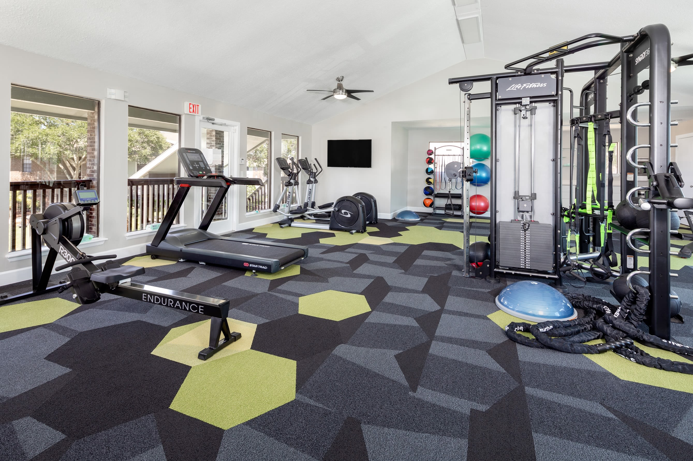 24 Hour Modern Fitness Center at Compass in Melbourne, Florida