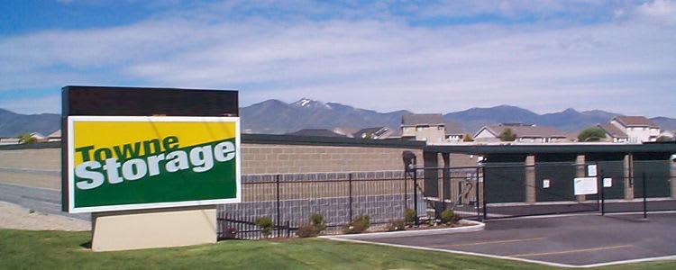 Electronic gate access at Towne Storage in Mesa, Arizona