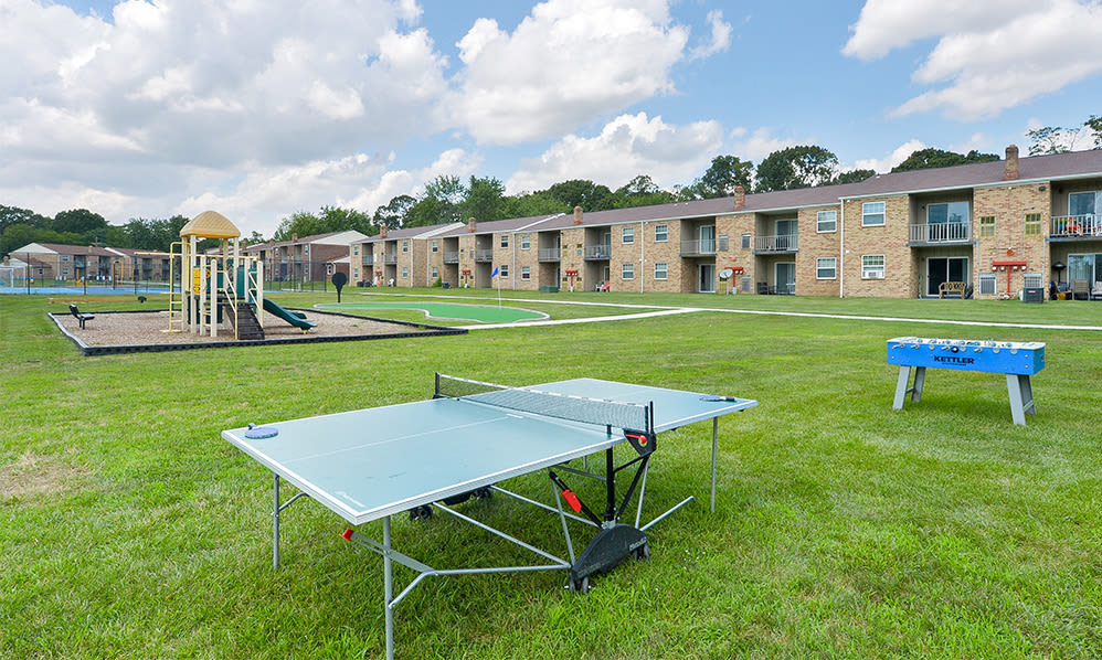 Ping pong table at The Fairways Apartment Homes in Blackwood, NJ