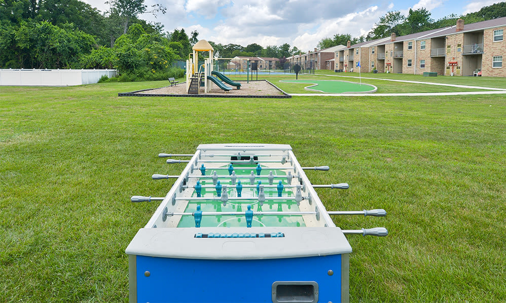 Outdoor games at The Fairways Apartment Homes in Blackwood, NJ