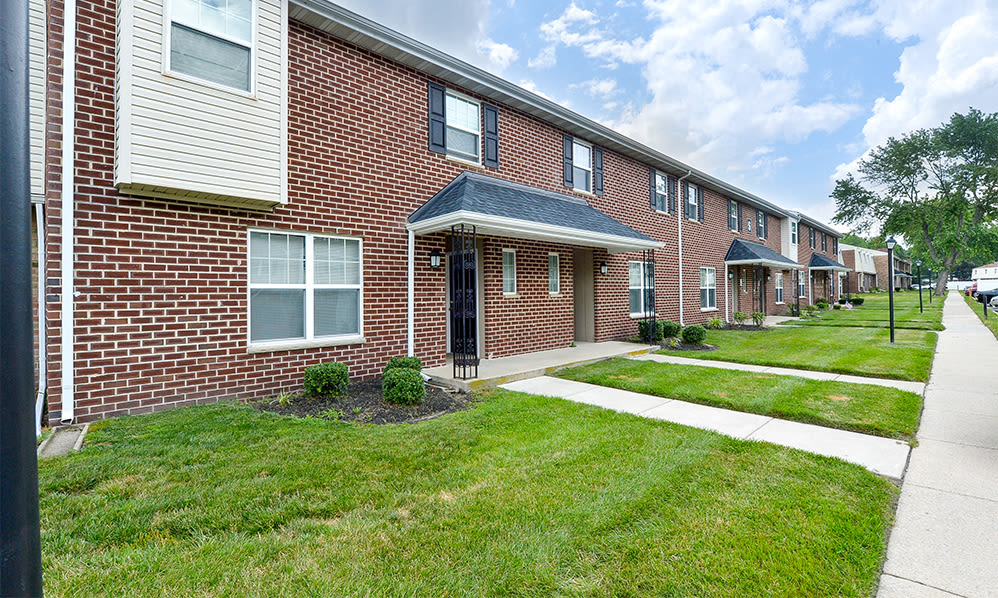 Exterior views at The Fairways Apartment Homes in Blackwood, NJ