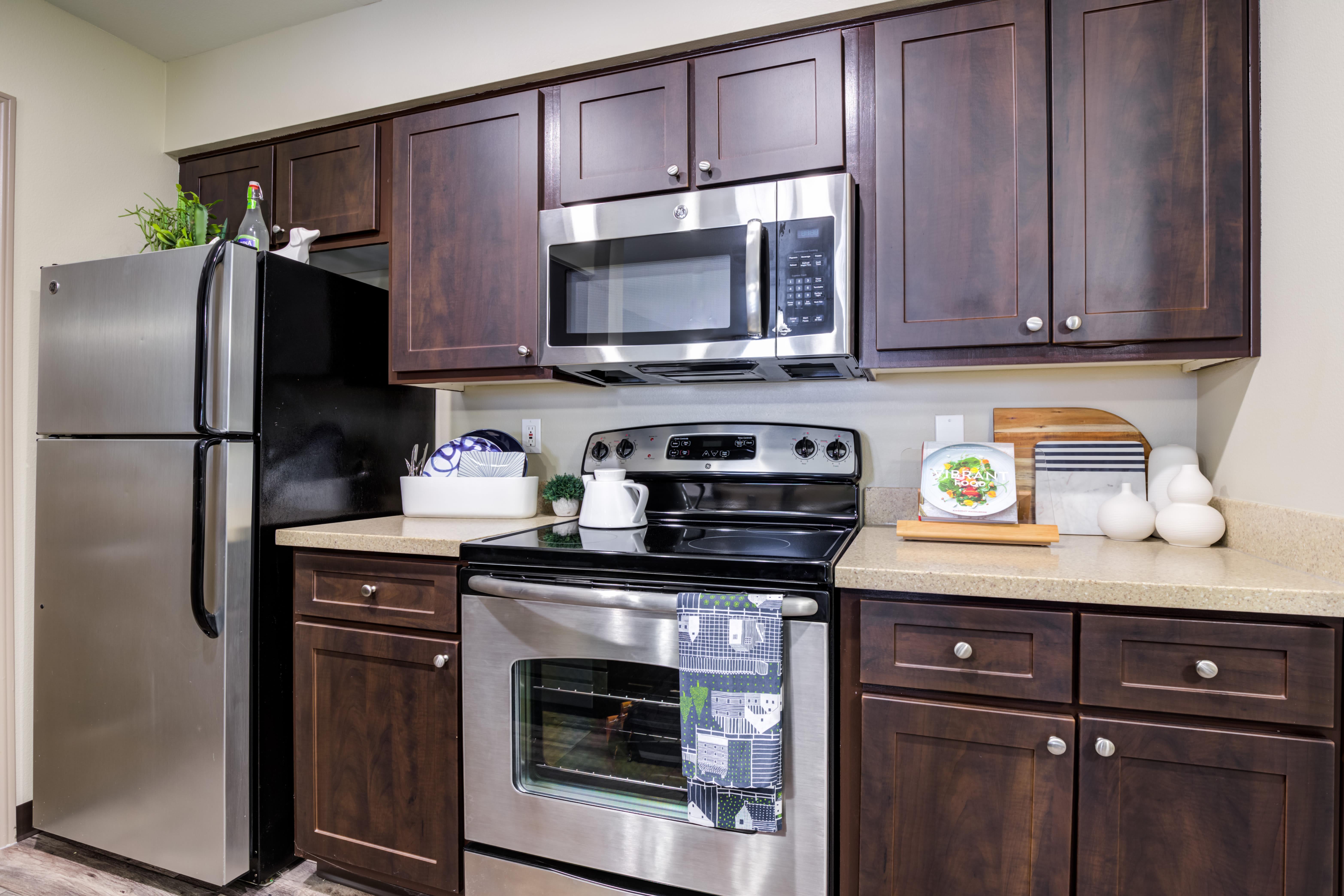 Our Beautiful Apartments in Sammamish, Washington showcase a Kitchen