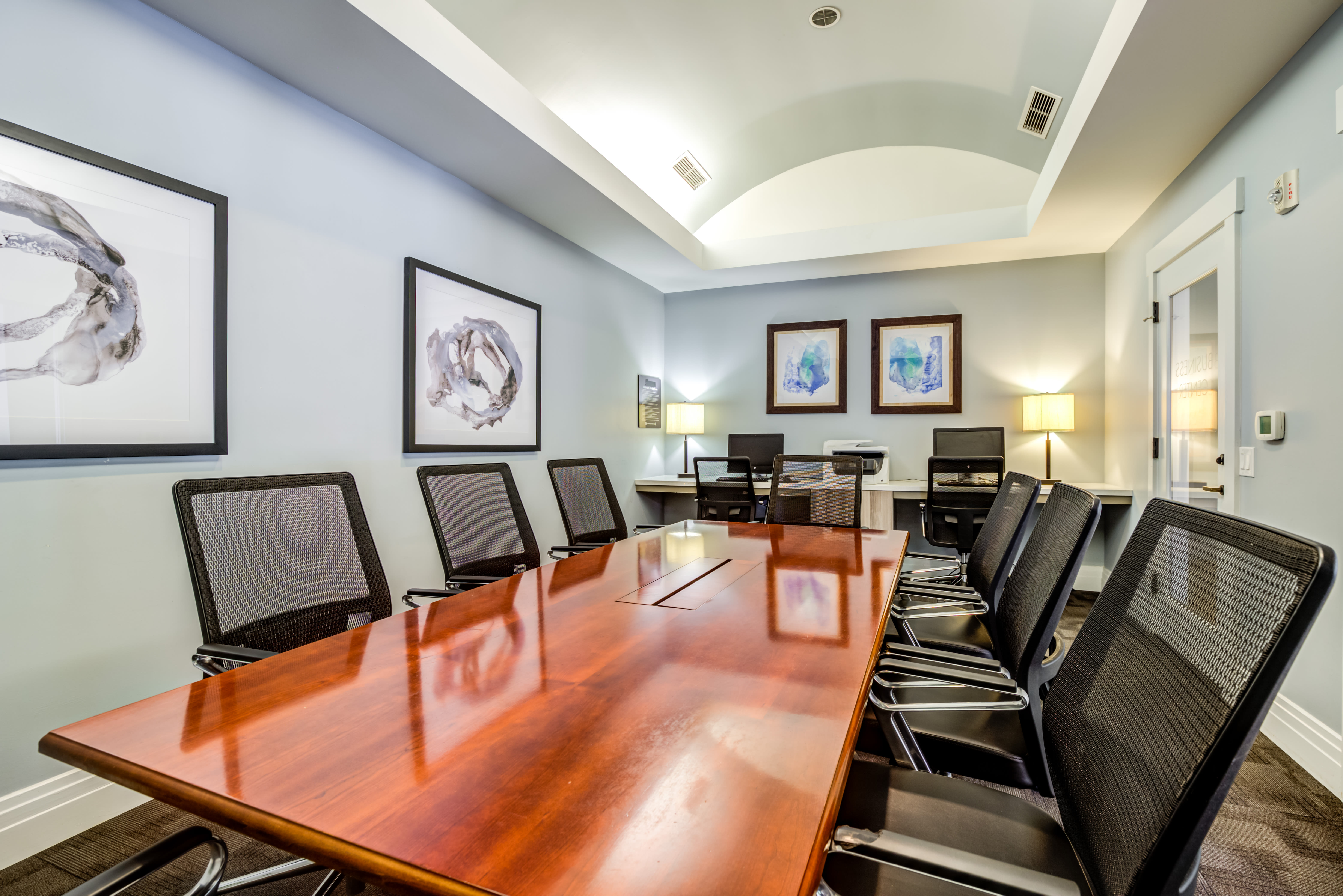 Conference room at The Preserve at Forbes Creek in Kirkland, Washington