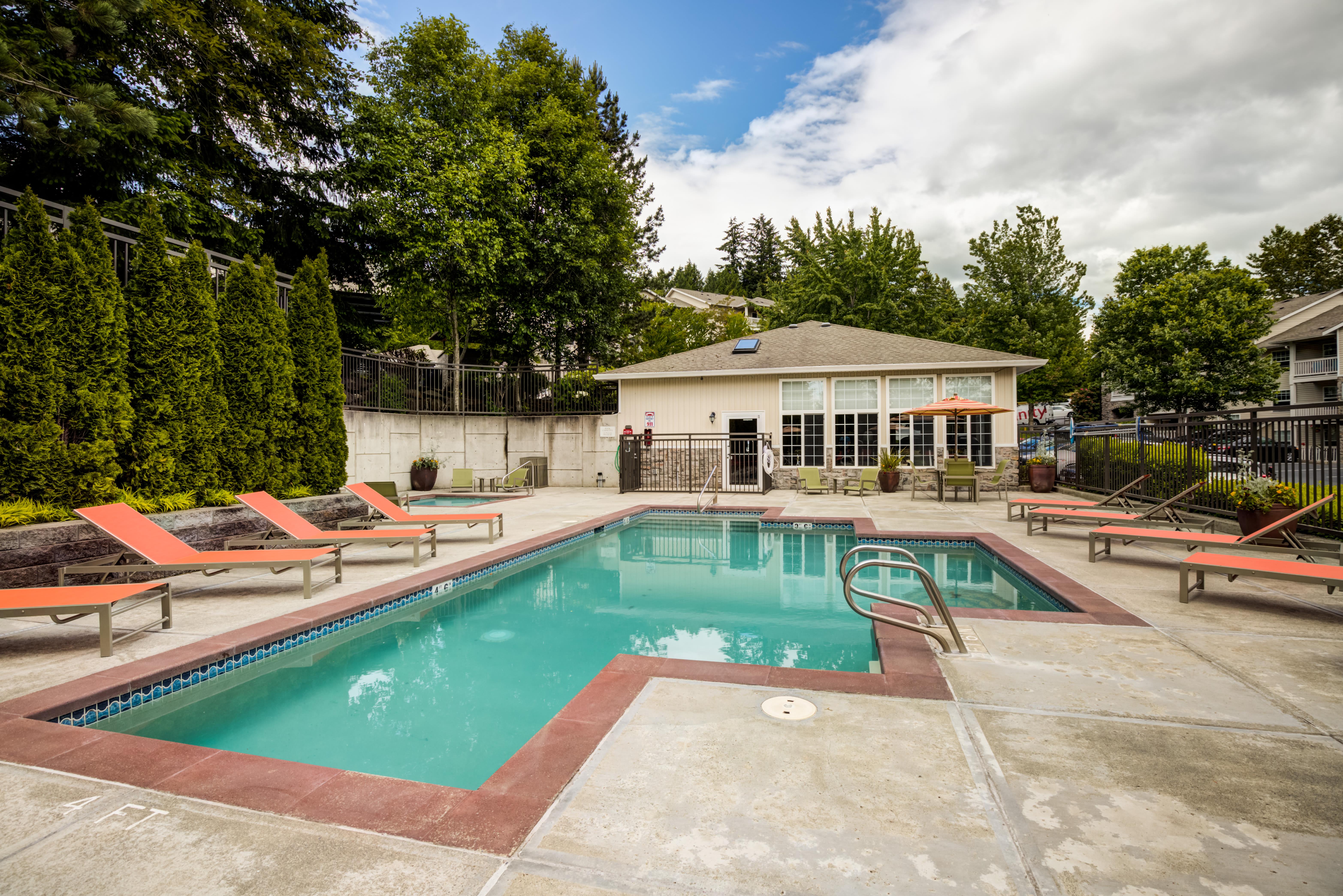 Swimming Pool at The Knolls at Inglewood Hill in Sammamish, Washington