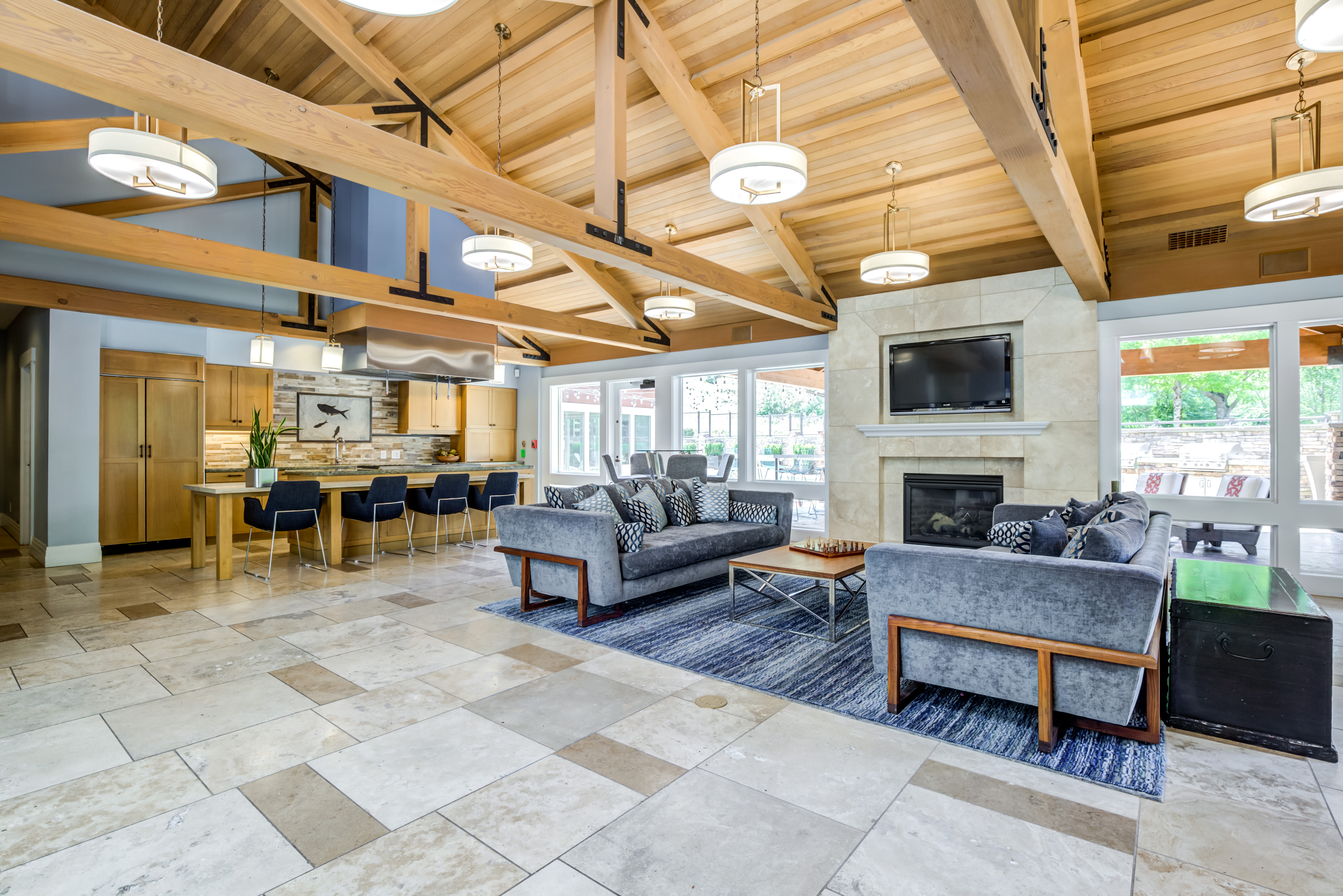 Clubhouse at The Preserve at Forbes Creek in Kirkland, Washington