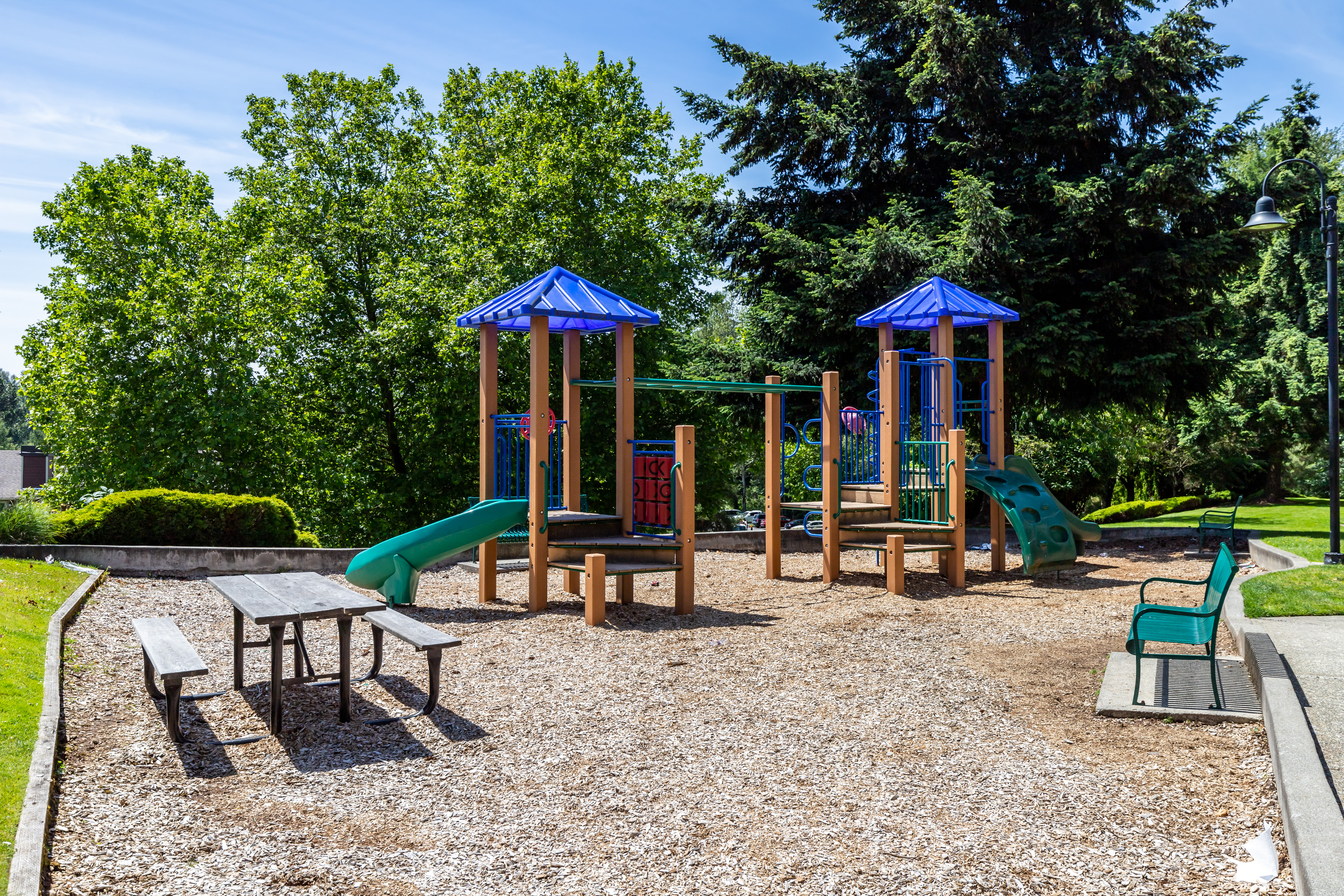 Playground at The Preserve at Forbes Creek in Kirkland, Washington
