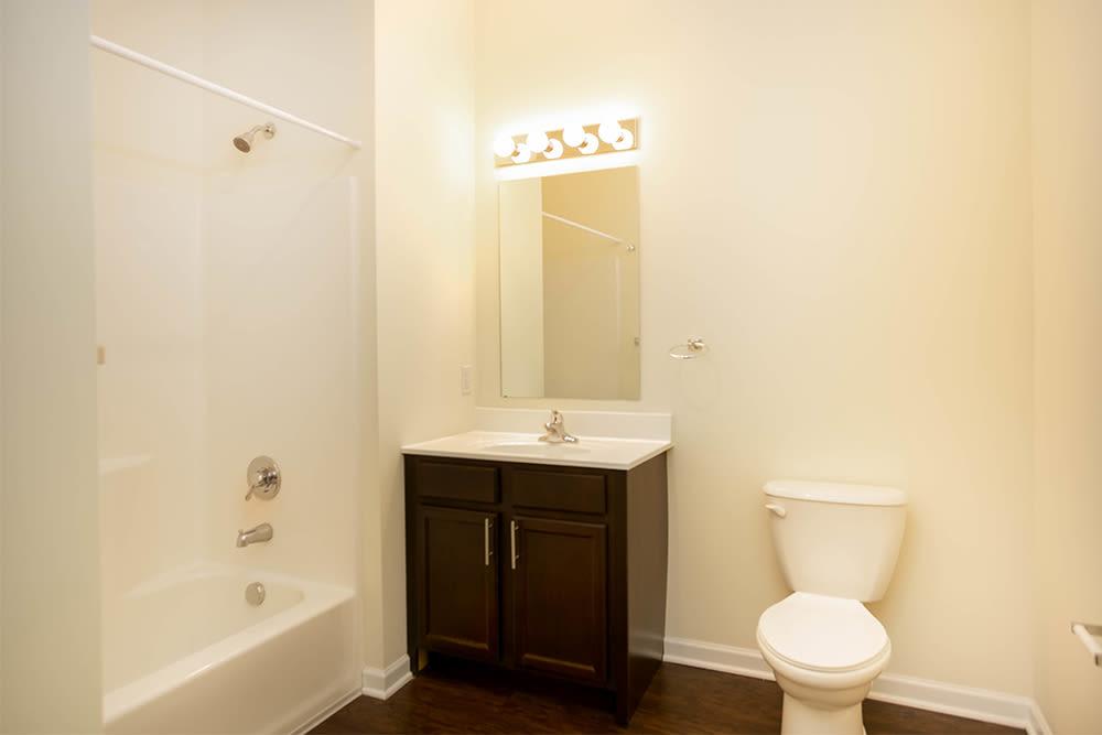 Spacious bathroom at Marquis Place in Murrysville, Pennsylvania