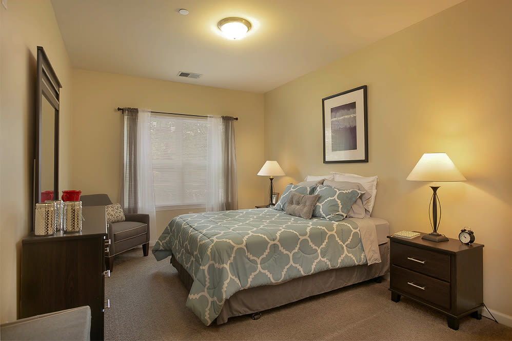 Bedroom at Marquis Place in Murrysville, Pennsylvania