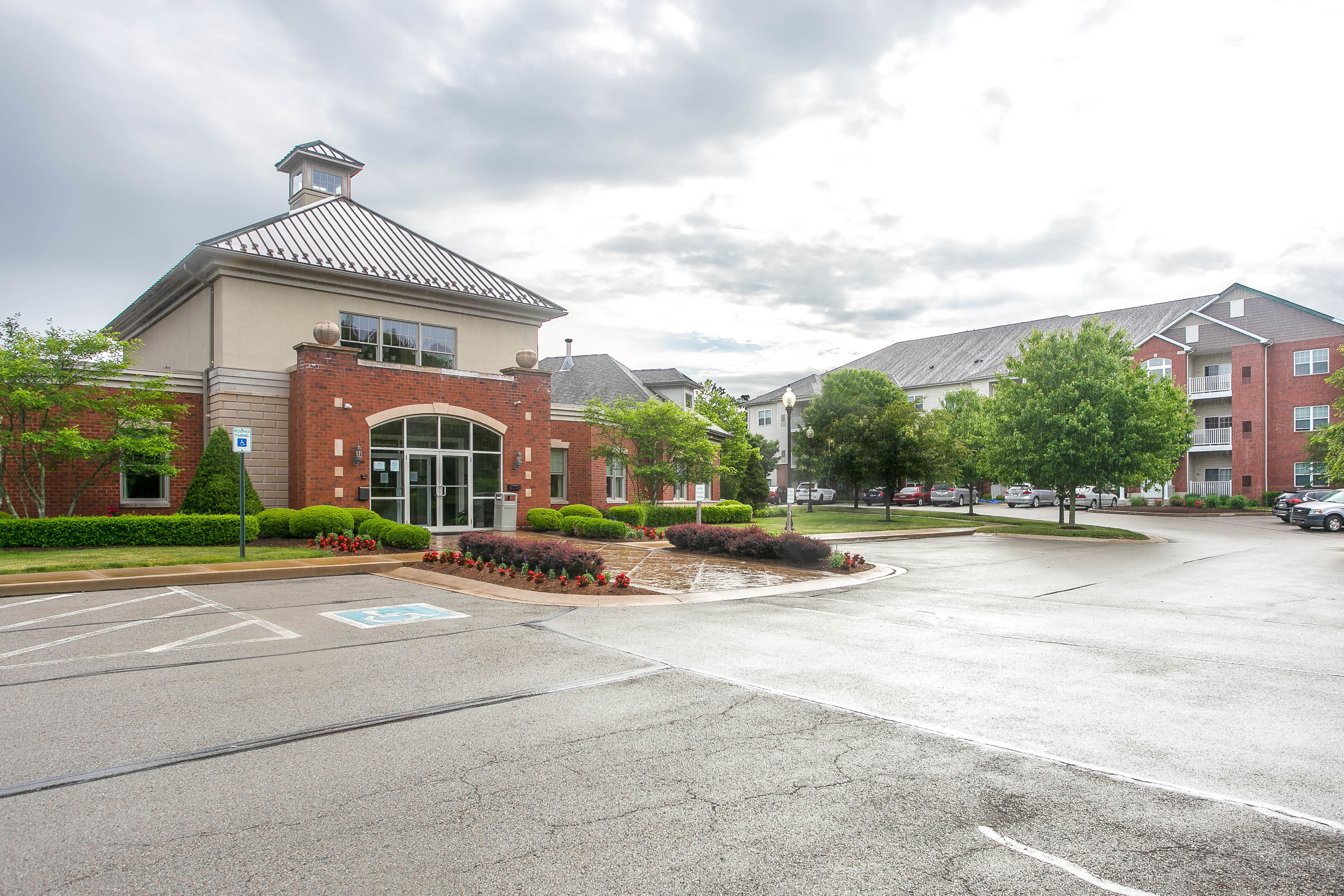Leasing office at Marquis Place in Murrysville, Pennsylvania