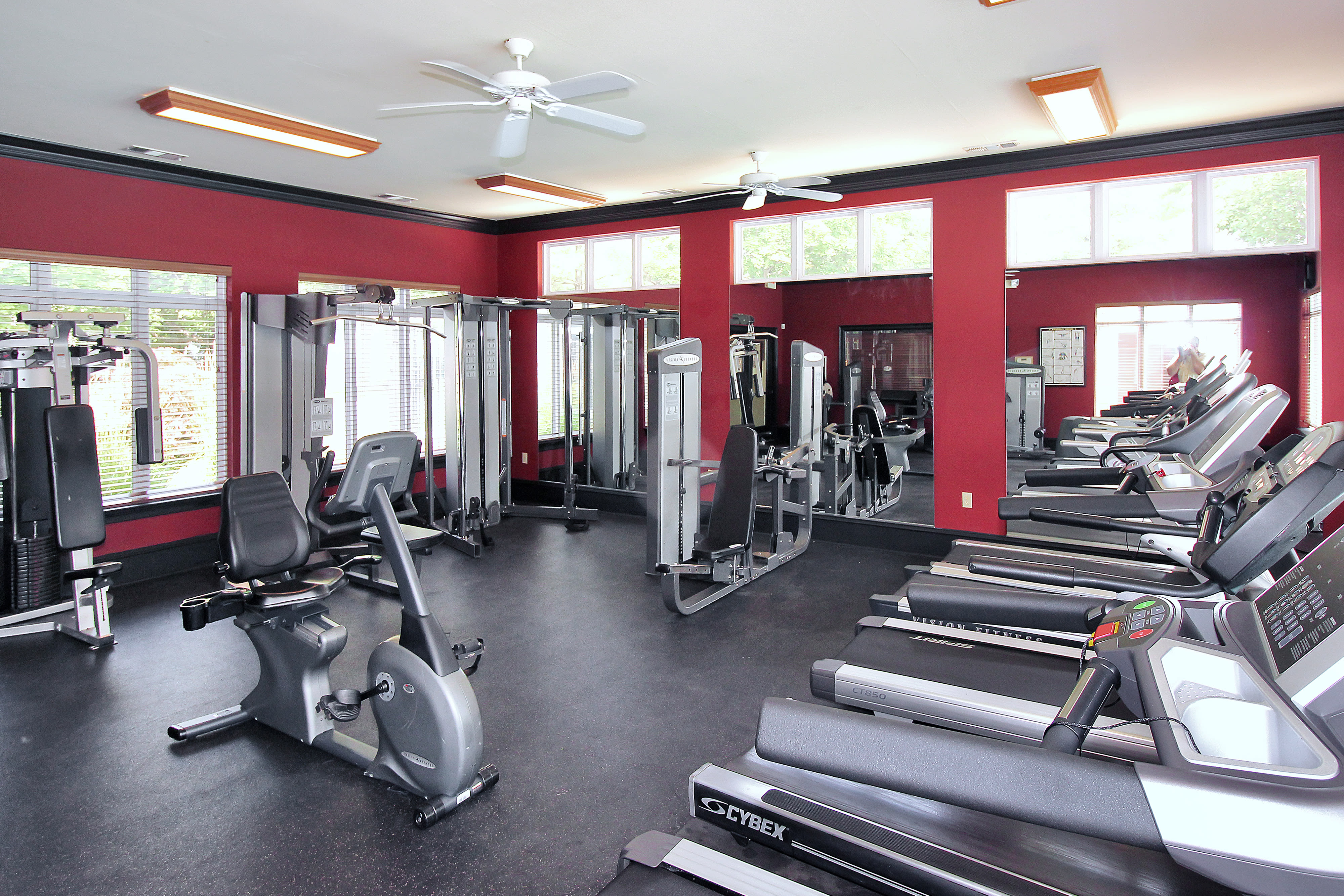 Fitness Center at Apartments in Germantown, Maryland