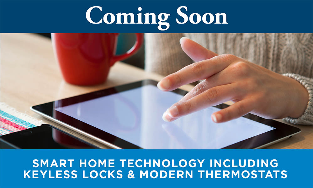 Coming Soon - Smart Home Technology at East Meadow Apartments in Fairfax, Virginia