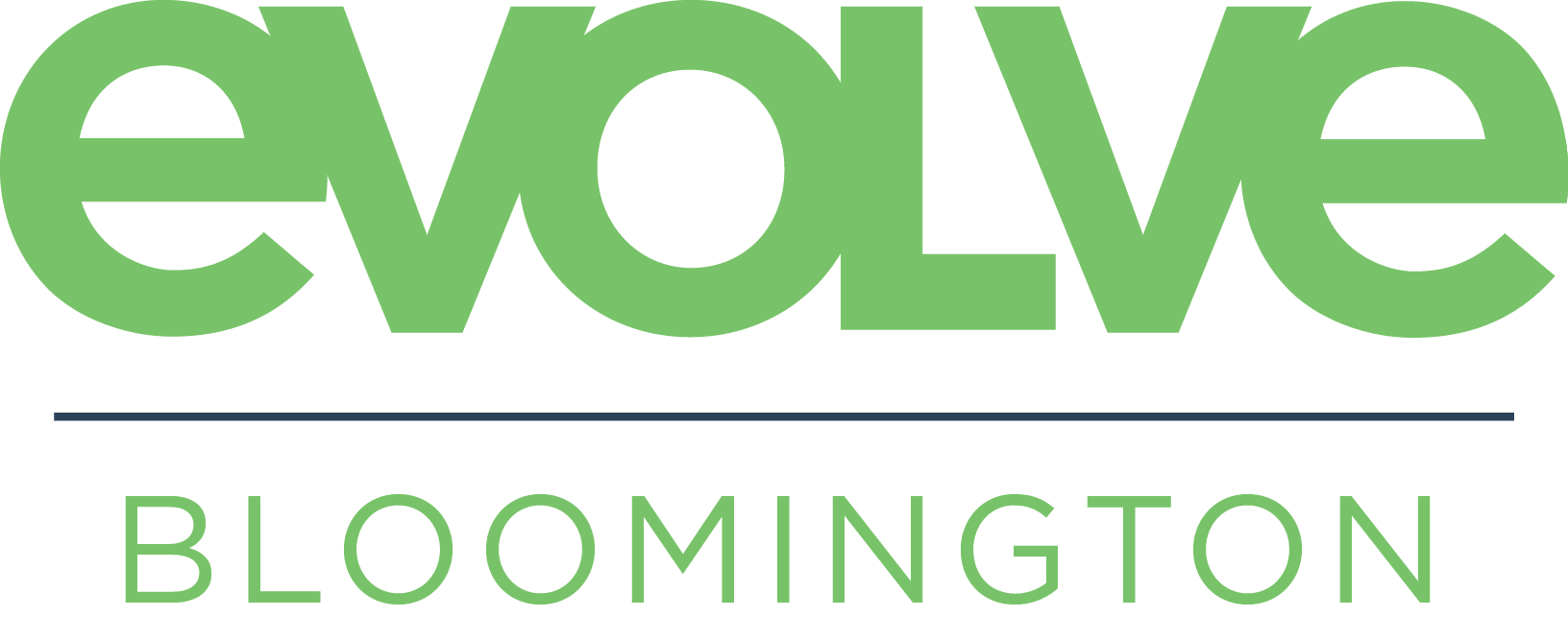 evolve Bloomington logo