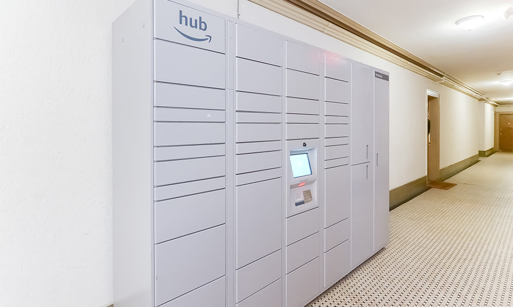 Amazon Hub at Berkeley Arms Apartment Homes in Rutherford, New Jersey
