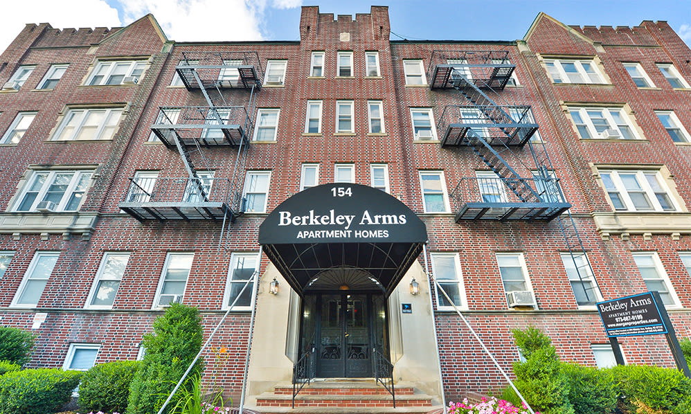 Exterior at Berkeley Arms Apartment Homes in Rutherford, New Jersey