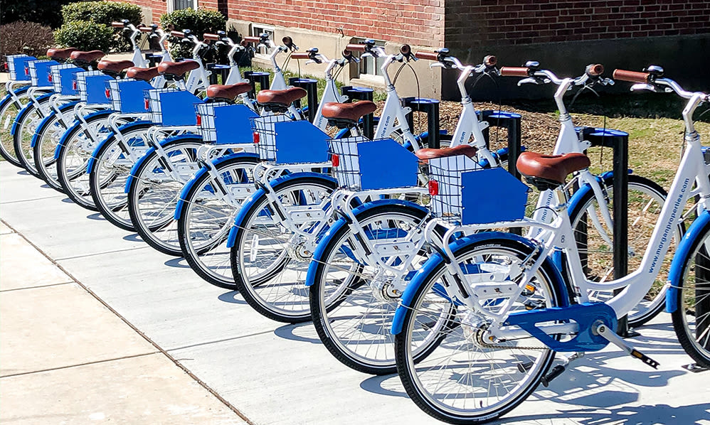 Bike share in Jeffersonville, Pennsylvania