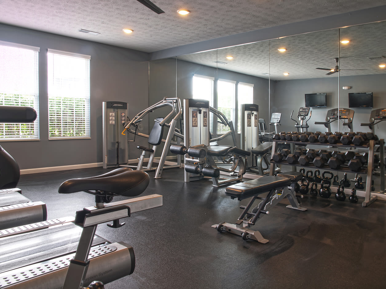Sterling Lakes offers a Modern Fitness Center in Mason, Ohio
