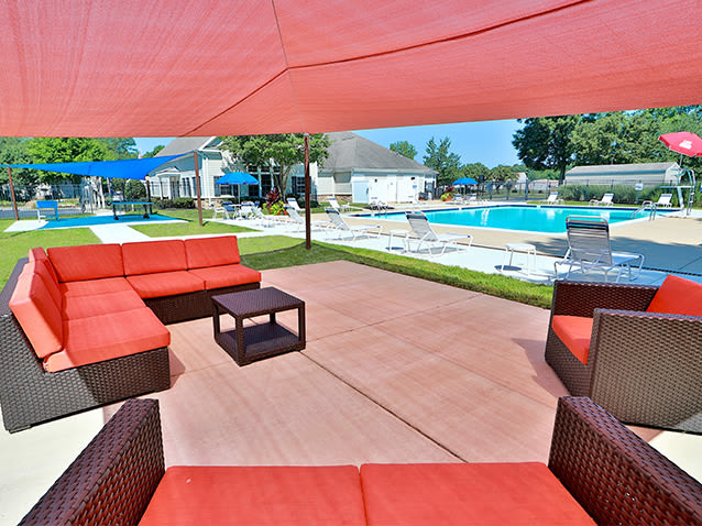 Sundeck at St. Mary's Landing Apartments & Townhomes