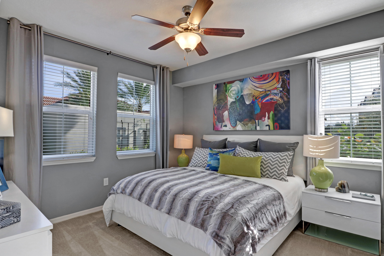 Bedroom at Linden Pointe in Pompano Beach, Florida