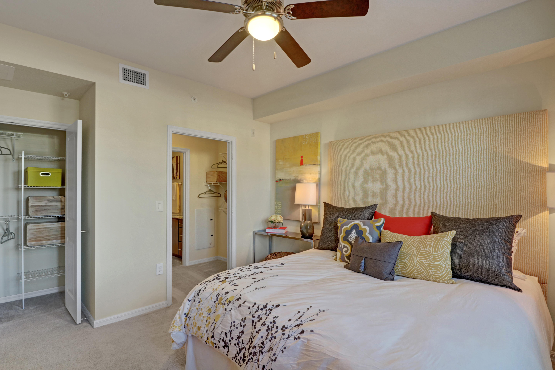 Spacious main bedroom at Linden Pointe in Pompano Beach, Florida