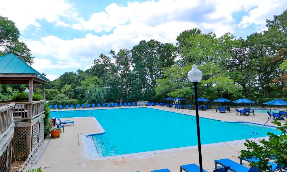 Beautiful Pool at Willow Run at Mark Center Apartment Homes in Alexandria, VA
