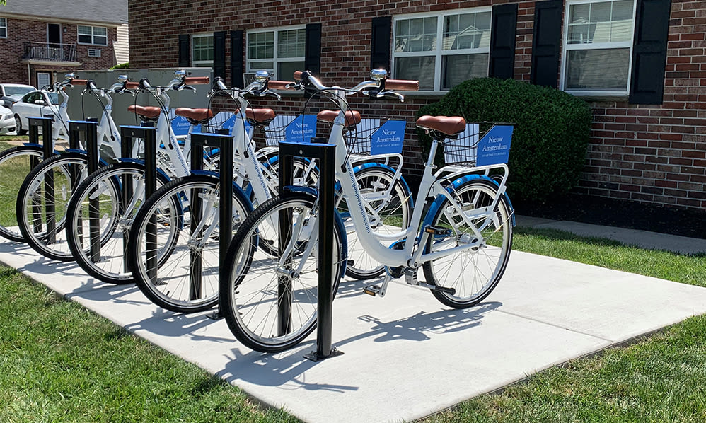 Bike share at Nieuw Amsterdam Apartment Homes in Marlton, NJ