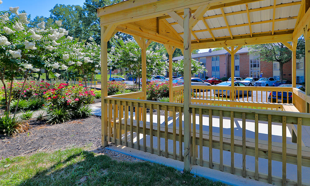 Gazebo at Skylark Pointe Apartment Homes in Parkville, Maryland