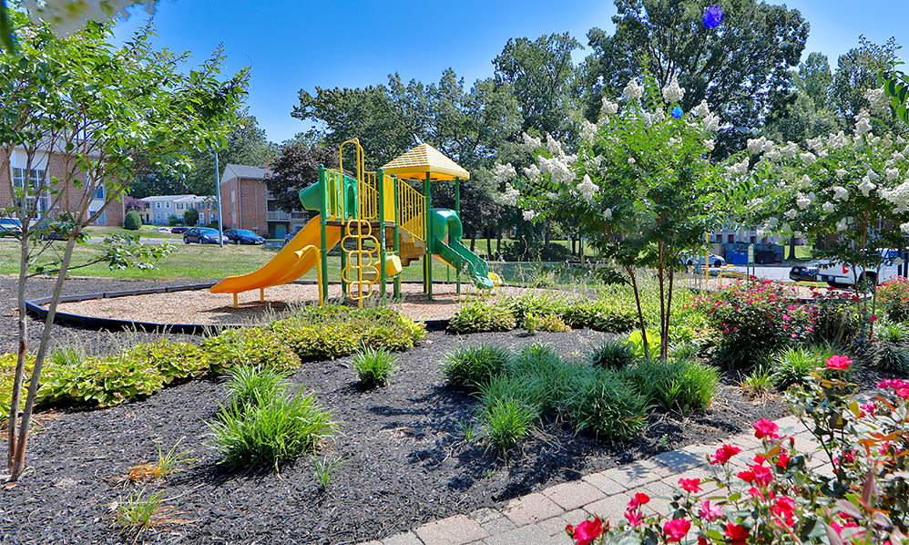 Playground at Skylark Pointe Apartment Homes in Parkville, Maryland