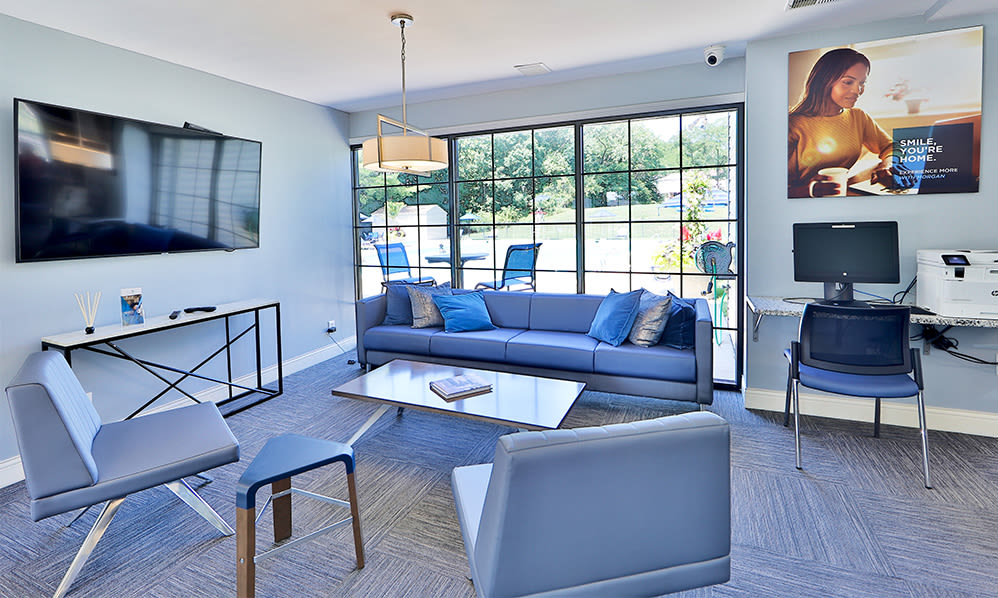 Clubhouse at Skylark Pointe Apartment Homes in Parkville, Maryland
