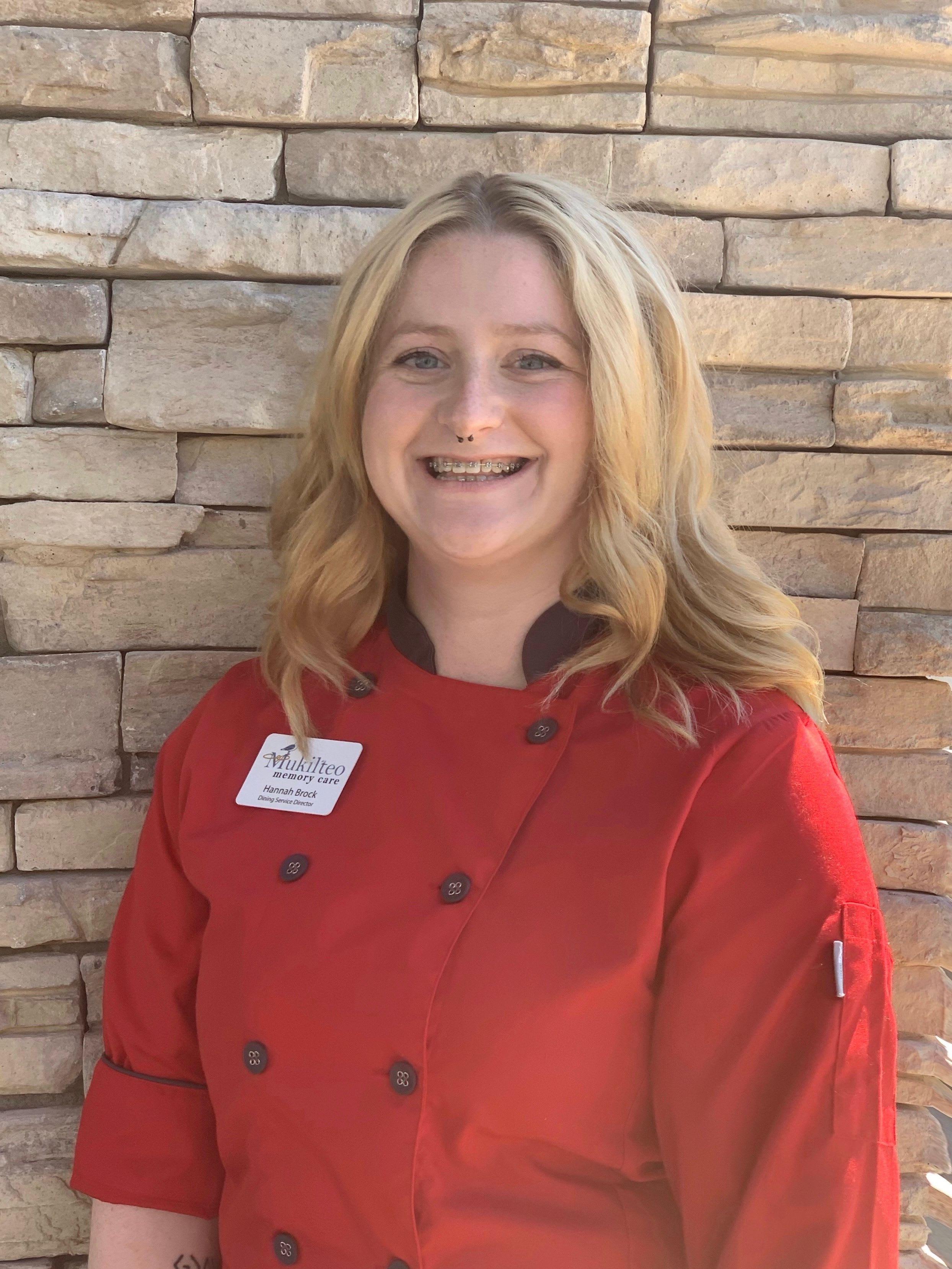 Hannah Brock  Dining Services Director