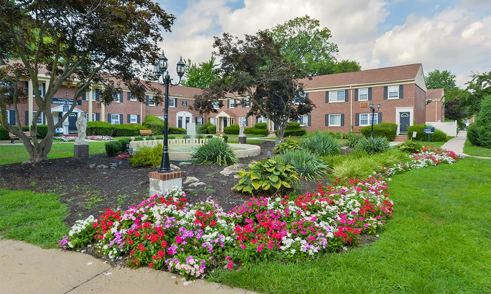 Beautiful exterior at General Greene Village Apartment Homes in Springfield, NJ