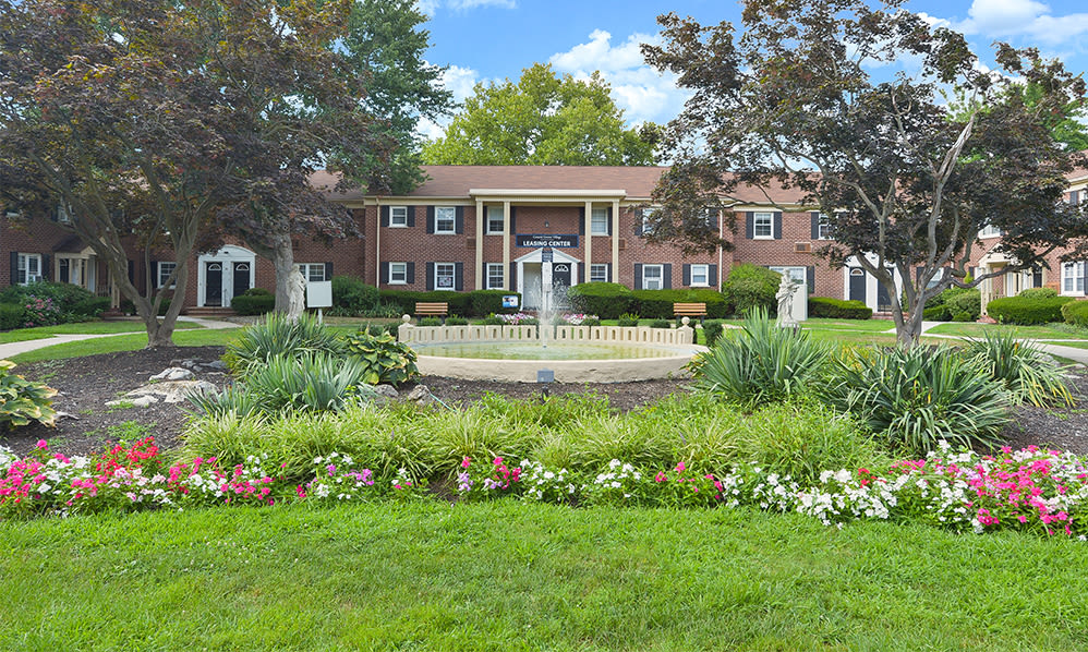 Landscaping at General Greene Village Apartment Homes in Springfield, NJ