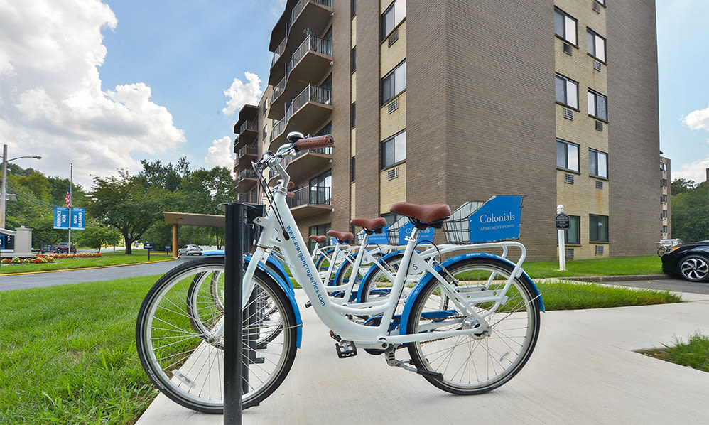 Bike share at The Colonials Apartment Homes in Cherry Hill, NJ
