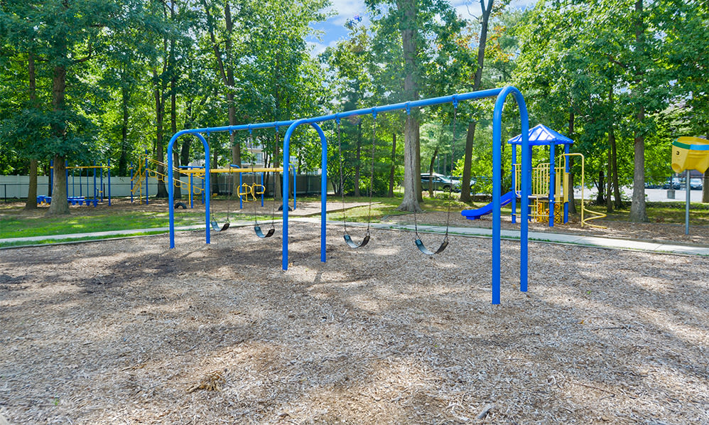 Scenic playground at The Colonials Apartment Homes in Cherry Hill, NJ