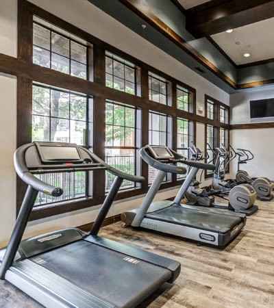 Onsite gym at Terrawood