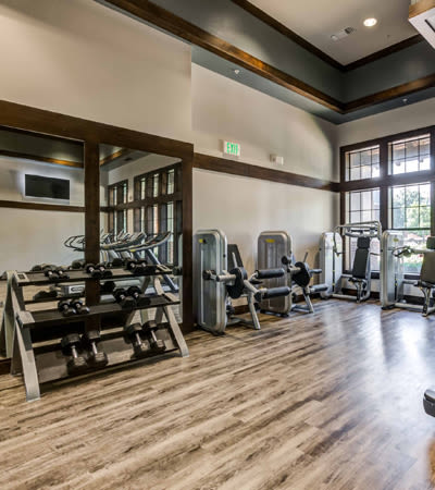 Onsite gym Terrawood