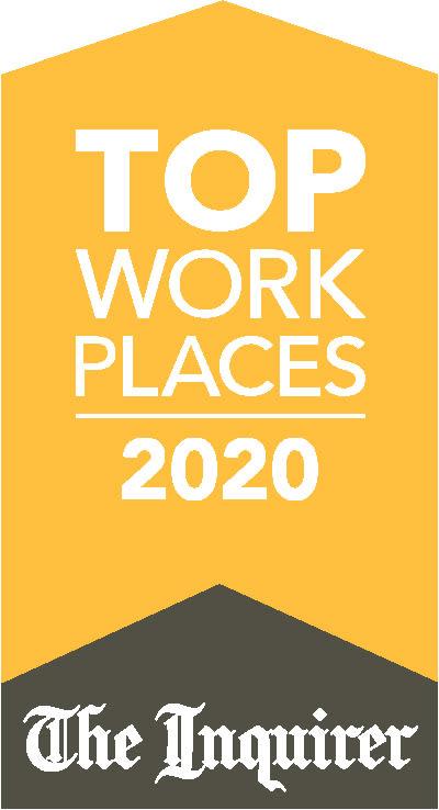 Morgan Properties Top Works Places 2020 Award