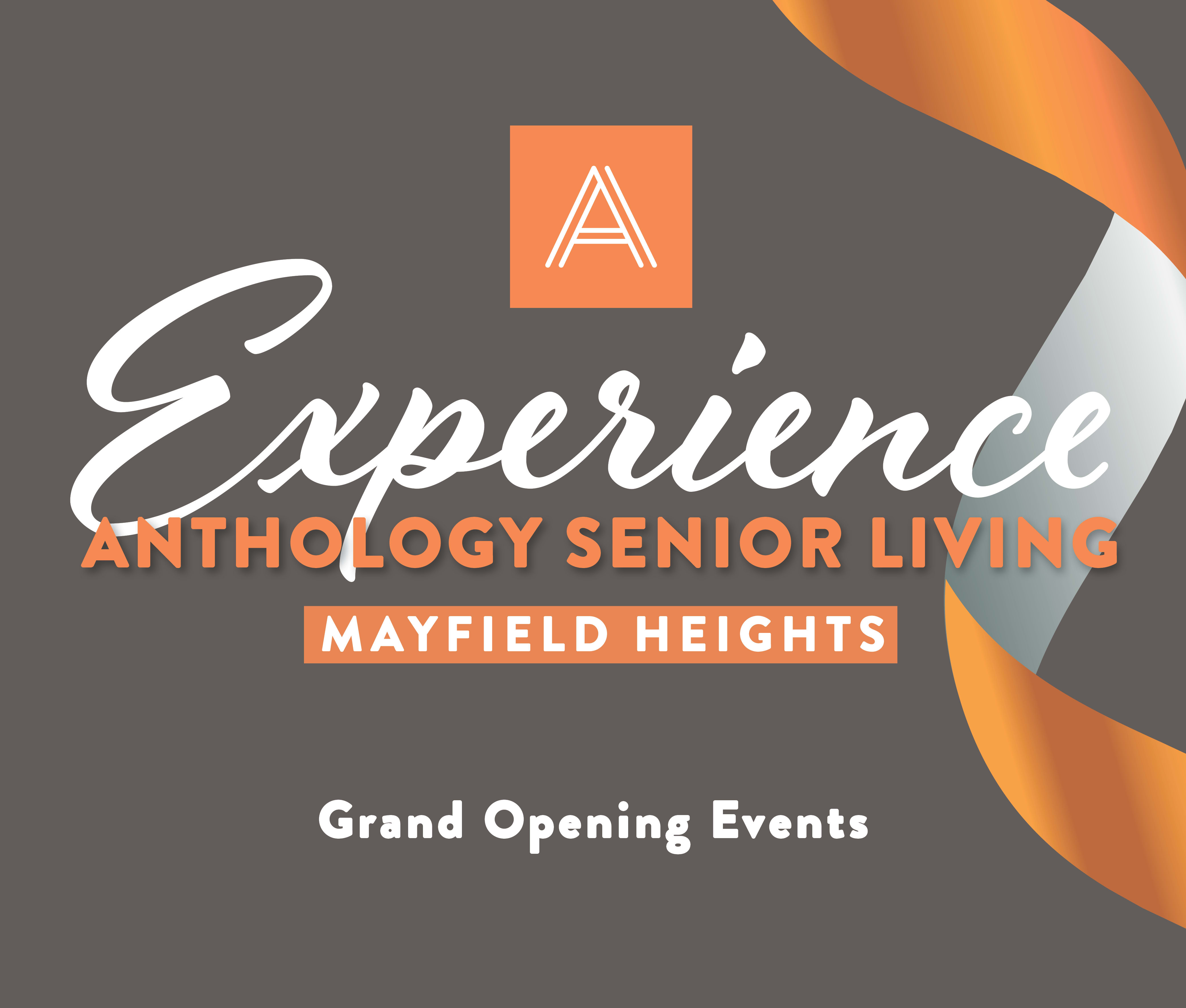 Join us for an event at Anthology of Mayfield Heights - OPENING 2020 in Mayfield Heights, Ohio