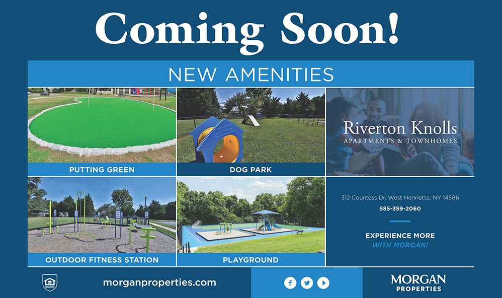 New amenities coming soon!